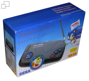 TecToy Master System Super Compact Sonic the Hedgehog / Bart vs. The Space Mutants Box [Argentina]