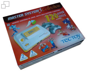TecToy Master System III Collection: 120 Super Jogos Box [Brazil]