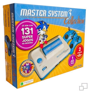 TecToy Master System III Collection: 131 Super Jogos Box [Brazil]