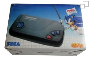 TecToy Master System Super Compact Sonic the Hedgehog Box [Brazil]