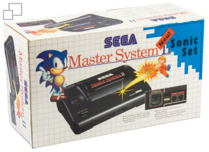 SEGA Master System II Sonic the Hedgehog/Alex Kidd in Miracle World Box [Germany]