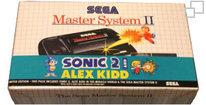 SEGA Master System II Alex Kidd in Miracle World/Sonic 2 Box [PAL/SECAM]