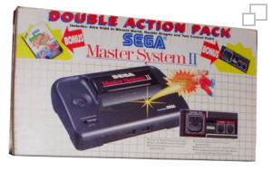 SEGA Master System II Double Action Pack Alex Kidd in Miracle World/Double Dragon Box [PAL/SECAM]