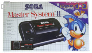 SEGA Master System II Sonic the Hedgehog/Sonic 2 Box [PAL/SECAM]