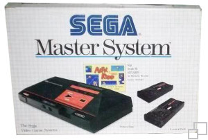 SEGA Master System Alex Kidd in Miracle World Box [PAL/SECAM]
