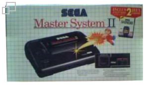 SEGA Master System II Alex Kidd in Miracle World/Shinobi Box [France]
