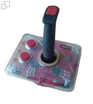 Gravis Switch Limited Edition Clear Joystick
