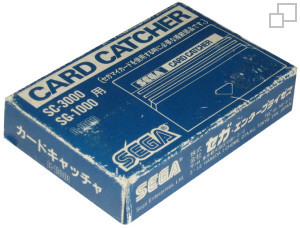 SEGA Card Catcher for use with SG-1000, SG-1000 I, SC-3000 and SC-3000H)