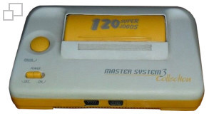 PAL-M TecToy Master System III Collection 120
