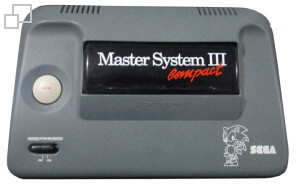 PAL-M TecToy Master System III Compact Sonic Edition